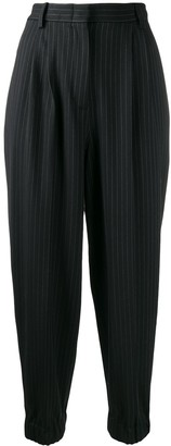 Antonio Marras pin stripe cropped trousers