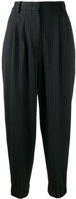 Antonio Marras Pin Stripe Cropped Trousers