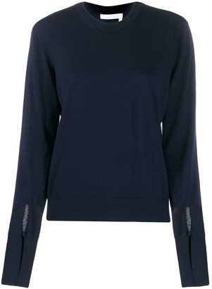 Chloé Slitted Cuffs Jumper