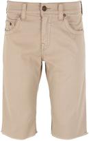 True Religion Ricky Relaxed Tan Overdye Shorts