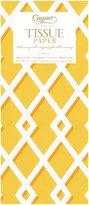 Caspari Trellis Yellow Tissue Paper, 4-Sheets