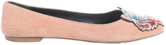 Kenzo Pink Suede Flats