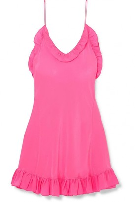 Les Rêveries Pink Silk Dress for Women