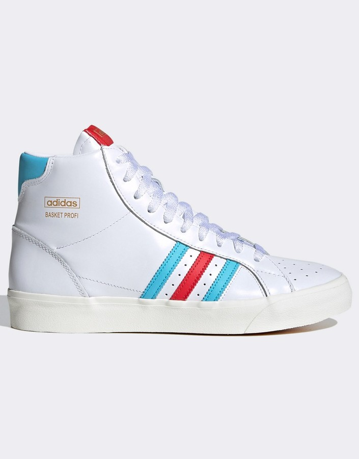 Adidas White High Top Trainers For