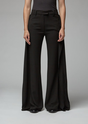 Ann Demeulemeester Wide Leg Panel Trouser