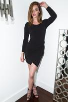 Donna Mizani Knot Mini Dress