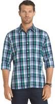 Van Heusen Men's Untucked Slim-Fit Button-Down Shirt