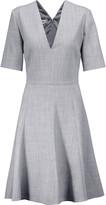 Stella McCartney Holly herringbone wool-blend mini dress