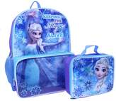 "Disney Disney's Frozen Kids Elsa ""Keeping the Magic Alive"" Backpack & Lunch Bag Set"
