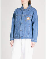 Craig Green Eyelet-detail denim jacket