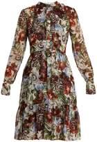 Erdem Devika Dorothea-print silk-chiffon dress