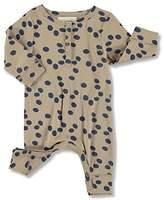 nadadelazos Baby Girls Romper Olives Long Sleeve Onesie Pajamas - -