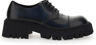 Balenciaga Tractor 65 Lace-Up Derby Shoes