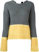 Marni cashmere colour block jumper - women - Cashmere - 44