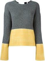 Marni colour block jumper - women - Cashmere - 44