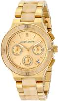 Kenneth Jay Lane Women's 2141 2100 Series Analog Display Japanese Quartz Gold Watch