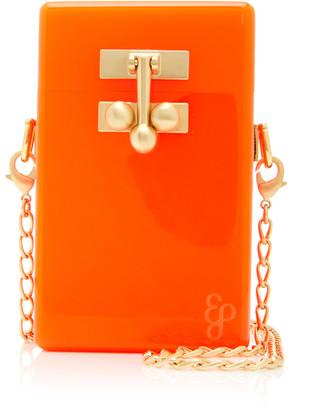 Edie Parker Acrylic Mini Case Bag