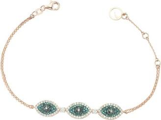 Bee Goddess Eyelight Diamond Bracelet