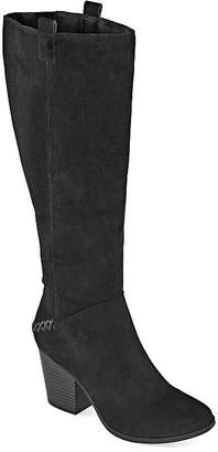 A.N.A Womens Lendy Dress Boots Block Heel