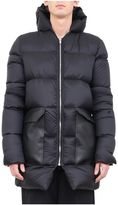 Rick Owens Leather Trimmed Down Jacket
