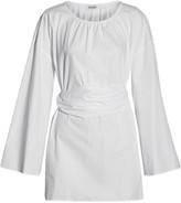 Suno Pleated cotton tunic