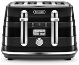 De'Longhi CTA4003BK Avvolta Toaster - Black