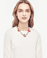 Ann Taylor Enamel Floral Necklace