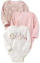 Old Navy Jersey Bodysuit 3-Pack for Baby