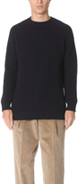 E. Tautz Ribbed Crew Neck Sweater