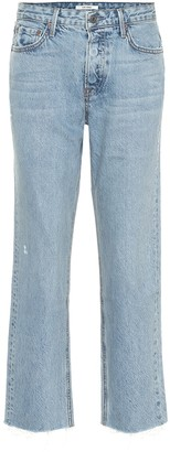 GRLFRND Helena high-rise cropped jeans