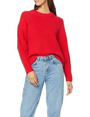 Selected Women's Slfmira Ls Knit O-Neck B Jumper,16 (Size: X-Large)