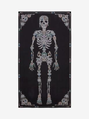 Alexander McQueen Treasure Skeleton Shawl