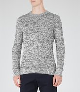 Reiss Turbine Flecked Jumper