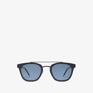 Saint Laurent SL 28 Metal (Blue/Blue) Fashion Sunglasses