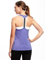 Old Navy Go-Dry Hi-Lo Racerback Tank for Women