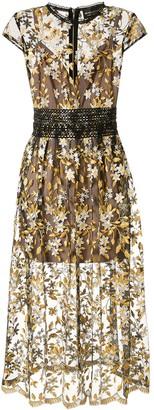 Bronx and Banco Gloria midi dress