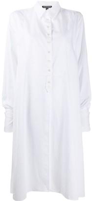 Ann Demeulemeester Long Shirt Dress