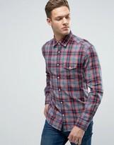 Esprit Shirt in Regular Fit Check