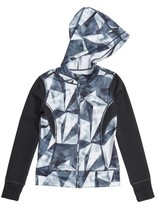 Zella Girl's 'Double Under' Print Hoodie