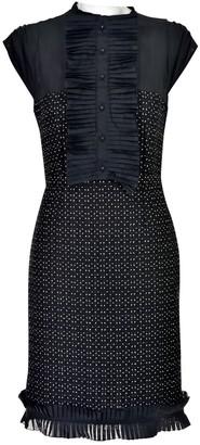 Fendi Black Wool Dresses