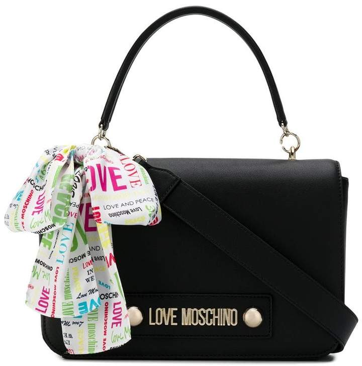 6c4a059ecab Love Moschino Black Duffels & Totes For Women - ShopStyle UK