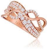 Le Vian 14K Strawberry Gold Vanilla Sinuous Swirls Diamond Ring