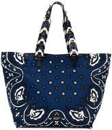 RED Valentino paisley print tote