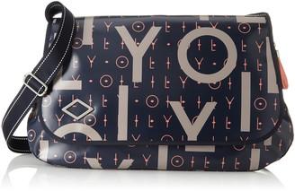 Oilily Lori Letters Diaperbag Lhf Womens Cross-Body Bag