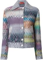 Missoni buttoned jacket - women - Nylon/Wool - 40