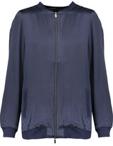 Yummie by Heather Thomson Silk-Satin Bomber Jacket
