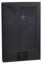 J By Jasper Conran Navy Luxury Patterned Pyjama Gift Set