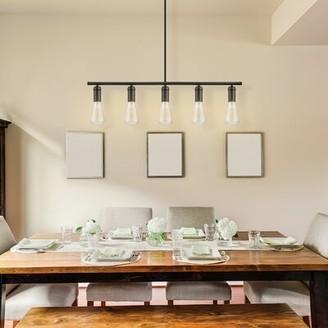 Novogratz Vintage 5 - Light Kitchen Island Bulb Pendant