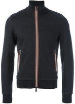 Moncler classic zip-up sweatshirt - men - Cotton/Wool - S