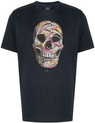 Paul Smith fish skull-print T-shirt